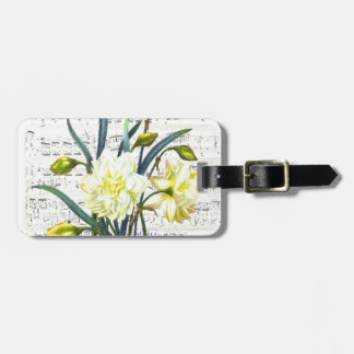 Springtime Song Luggage Tag