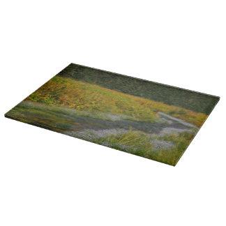 Springtime Splendor Cutting Board Landscape