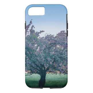 Springtime Sunrise, Flowered Tree at Dawn iPhone 8/7 Case