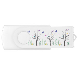 Springtime Swivel USB 2.0 Flash Drive