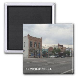 Springville Square Magnet