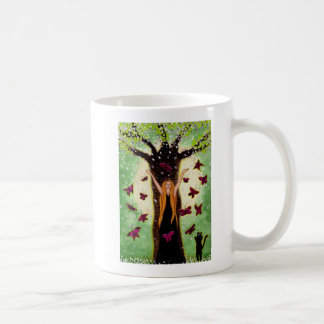 Springxhilaration Mug - Witch Art by Carol Ochs
