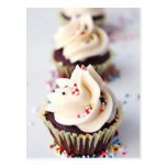 Sprinkle Cupcakes Postcard