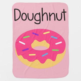 Sprinkle Doughnut Baby Blanket