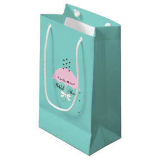 Sprinkle Love Blue And Pink Shower Party Gift Bag