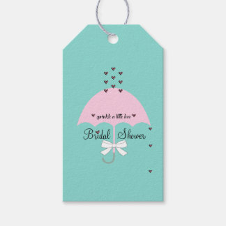 Sprinkle Love Blue And Pink Shower Party Gift Tags