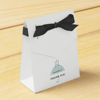 Sprinkle Love Pink And Blue Shower Party Favor Box
