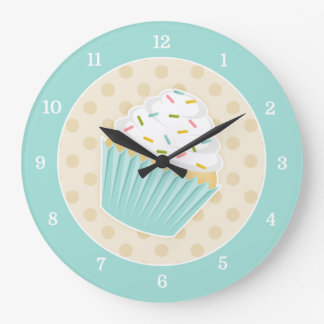 Sprinkled Cupcake Clock