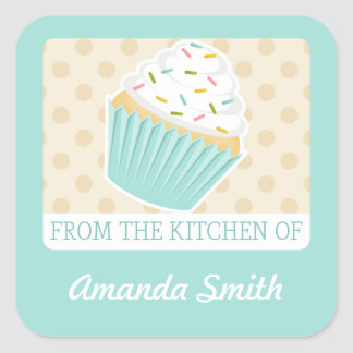 Sprinkled Cupcake Kitchen Labels