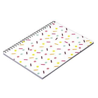 Sprinkled Notebook