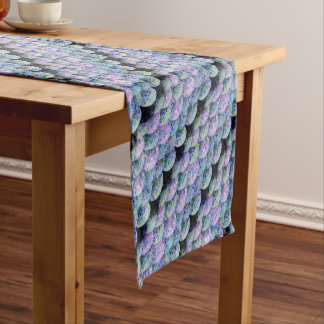 Sprinkled Paper Mermaid Scales Short Table Runner