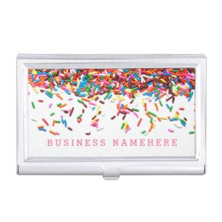 Sprinkles Business Card Holder