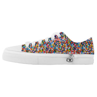 Sprinkles Colorful All-Over-Print Multi-Color Low Tops