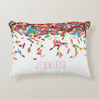 Sprinkles Custom Pillow