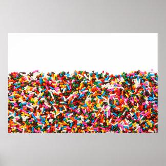Sprinkles-Filled Poster