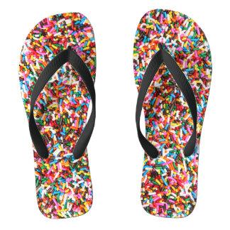 Sprinkles Flip Flops Thongs