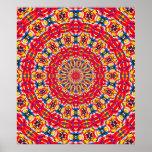 Sprinkles Kaleidoscope Poster