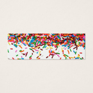 Sprinkles Mini Business Card