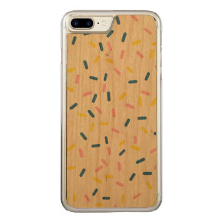 Sprinkles on Wood iPhone 7 Plus Case