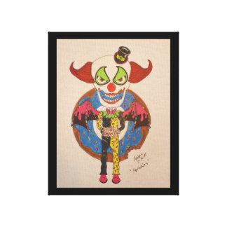 Sprinkles The Clown Canvas Print