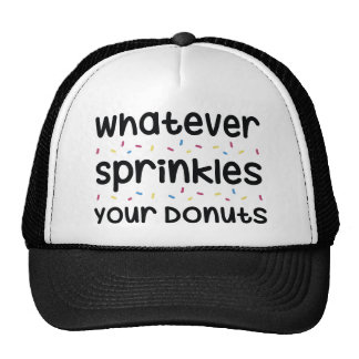 Sprinkles Your Donuts Cap