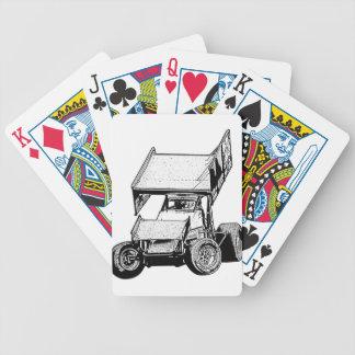 Sprint Car 1 Poker Cards