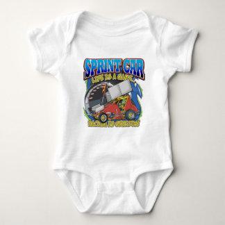 Sprint Car Life Baby Bodysuit