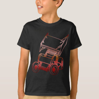 Sprint Car Skewed/Sunset T-Shirt