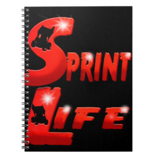 Sprint Life red Notebooks