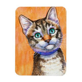 Sprite Tabby Cat Rectangular Photo Magnet