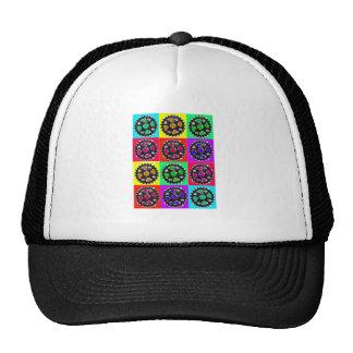 Sprockets POPART--Cyclist Biking Gifts Hat