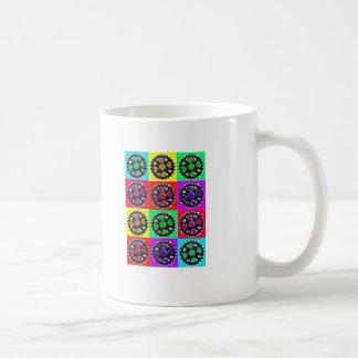 Sprockets POPART--Cyclist Biking Gifts Coffee Mugs