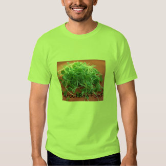 Sprout Raw Food Tee Shirts
