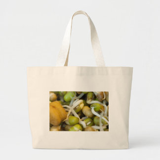 Sprouts - very healthy food tote bags
