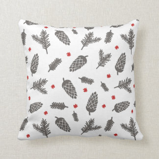 Spruce and Pine Christmas Cushion