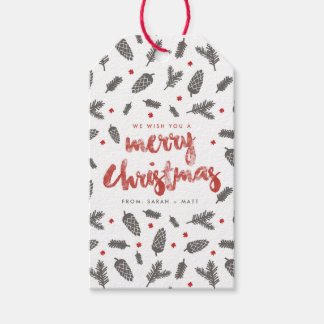 Spruce and Pine Christmas Gift Tags