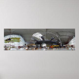 Spruce Goose 360 Panorama Poster