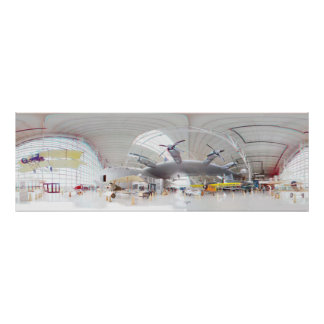 Spruce Goose 3D 360 Degree Panorama Poster