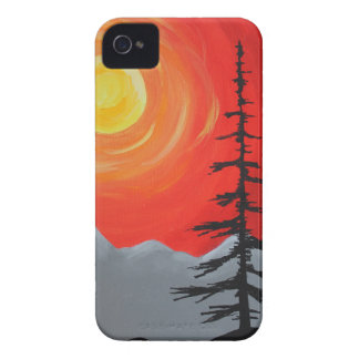Spruce Sunset iPhone 4 Cases