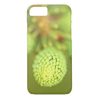 Spruce Tree Phone Case, Macro Nature Photography iPhone 7 Case