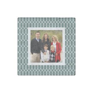 Spruce Trellis   Holiday Photo Stone Magnet