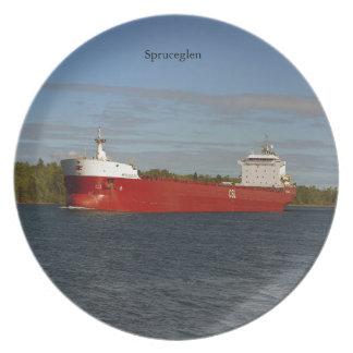 Spruceglen plate