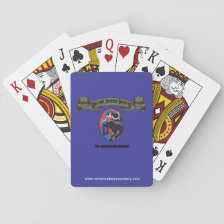 SPS Equestrian Vaulter Playing Cards