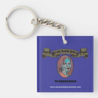 SPS Reptilain Woman Keychain