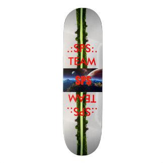 sps team country deck skate board