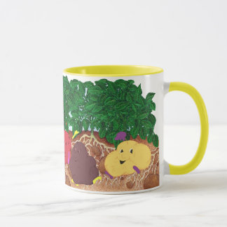Spudpeeps in Potato Patch mug