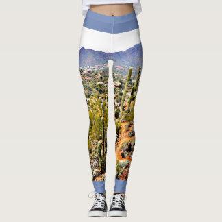 Spur Cross Ranch Landscape Women's Leggings