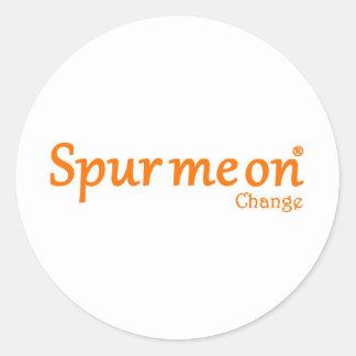 spurmeon change round sticker