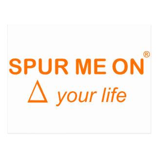Spurmeon change your life postcard