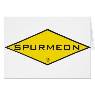 Spurmeon diamond unique motivational design card